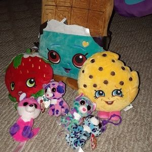 Shopkins and TY Beanie Boos